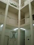 Interior del Edificio del Departamento de Matemáticas